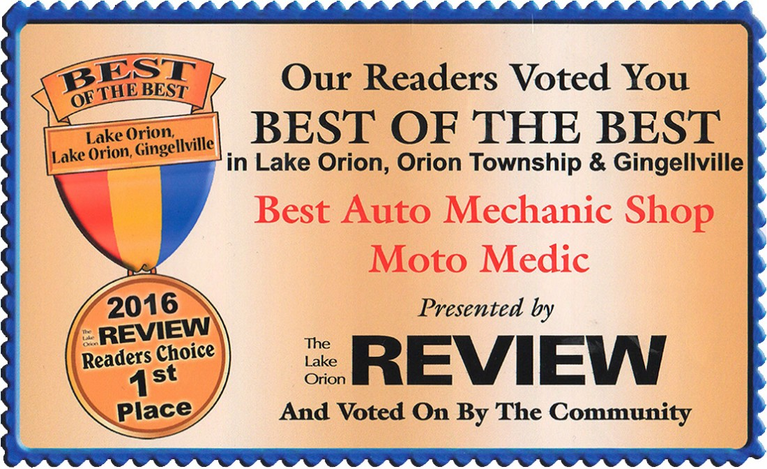 Brake Repair Oakland MI - Moto-Medic, Inc. - bb-cert